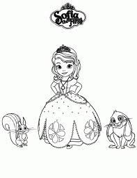 Small Picture 20 Free Printable Sofia the First Coloring Pages
