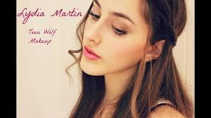 lydia martin wolf makeup tutorial you