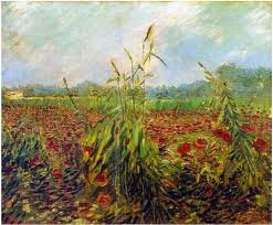 vincent van gogh green ears of wheat painting for this painting is available as handmade reion for vincent van gogh green ears of wheat