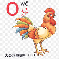 Ipa is a phonetic notation system that uses a set of symbols to represent each distinct sound that exists in human spoken language. Rooster Pinyin Cartoon Illustration Chinese Phonetic Alphabet O Child Chinese Style Png Pngegg