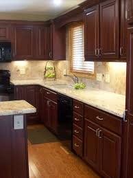 Traditional Kitchen Cherry Cabinetry Design Pictures Remodel
