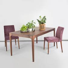como solid wood extending dining table