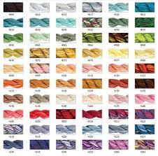 Dmc Pearl Cotton Variations Size 5 60 Colors