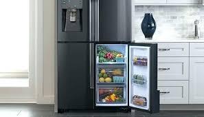 samsung black stainless fridge. Samsung Black Stainless Refrigerator Steel 2 Counter Depth Fridge F