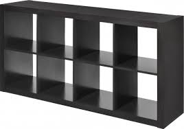 Awesome Contemporary Interior Design With Ikea Cube Shelves And Altra Horizontal  Bookcase Ikea