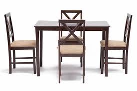 <b>Обеденный комплект Tetchair</b> Hudson <b>Хадсон</b> (стол + 4 стула ...