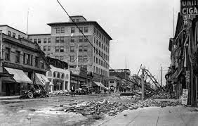 earthquake on San Andreas fault ...