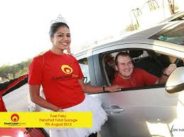 ECR Fuel Fairy spreads cheer