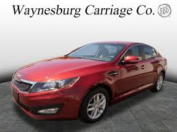 kia optima 2013 red. 2013 kia optima vehicle photo in waynesburg oh 44688 red