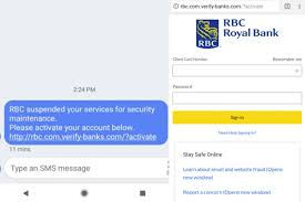 Phishing Scam Rbc Warns Of Text Message Phishing Scam Surrey Now Leader