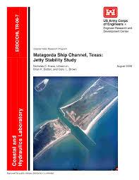 Pdf Matagorda Ship Channel Texas Jetty Stability Study