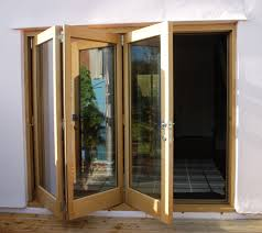 Wooden Timber Oak Bifold Doors In Warwickshire Near Birmingham