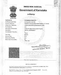 Procedure to make rental agreements in karnataka draft the agreement and print it on a stamp paper of due value as mentioned below get the agreement signed by the owner and tenant in the presence of two witnesses in bangalore, this is almost always followed. How To Claim Hra Rental Agreement And Rental Receipt