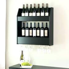 wall wine rack hanging mounted holder racks 6 bottle chrome ikea stainless steel glass amazo