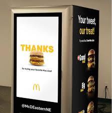 Big Mac Vending Machine Inspiration McDonald's Crea Una Vending Machine Que Regalará Big Macs Revista