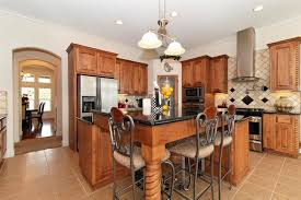 Kitchen Island with Bar Seating traditional-kitchen