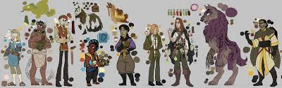 Height Chart Reference Show Off Your Character Height Charts Art Writing