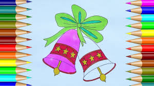 Christmas Bells Coloring Pages How To