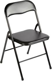 metal padded folding chairs. Metal Folding Chair Padded Seat Indoor/Outdoor Steel Kitchen Dining Poker Black Chairs N