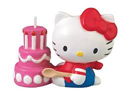 Amazoncom Wilton Hello Kitty Candle Decorative Cake Toppers