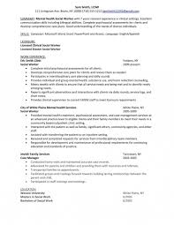 Mental Health Resume Objective Examples Mental Health Resume Objective Examples Resume Papers 1