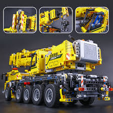 New 20004 2606pcs Technic Motor Power Mobile Crane Mk Ii Model