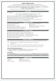 Simple Resume Formats Inspiration Simple Resume Format In Ms Word Resume Layouts Word Format For