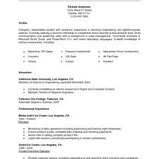 Sample Resume For College Student Seeking Summer Internship Archives ...
