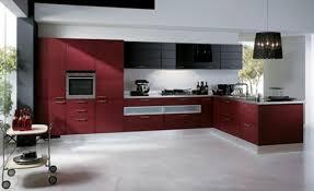 Image of: Design Red Kitchen Ideas