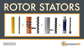 rotor stators and accessoires for