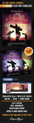 church invitation flyers invitation for at the cross church template by elegantflyer