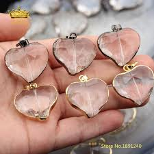 2019 28mm hot glass pendant faceted clear glass heart shaped beads charms making bracelet diy necklace fine jewelry zjc03 from qiangweiflo 30 79 dhgate