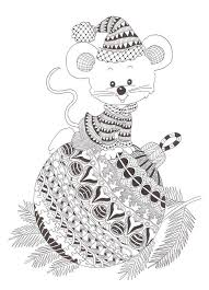 Zentangle Made By Mariska Den Boer 76 Coloring Pages For Adults