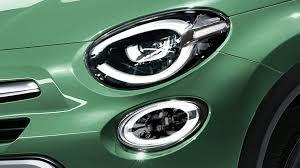 Fiat 500x Led Lights Fiat 500x Teases Its Subtle Facelift