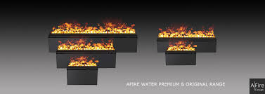 3d water vapor electric fireplace inserts range afire