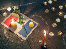 Resultado de imagen de atentado paris imagenes condolencias