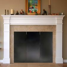 47 x 34 fireplace draft guard cover