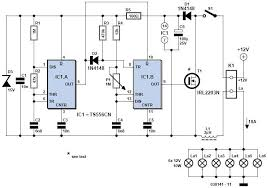 v light dimmer circuit 12 volts light dimmer circuit schematic