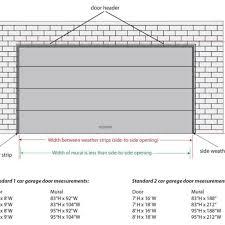 two car garage door size pertaining to dream garage doors