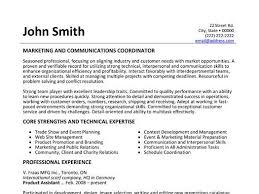 Marketing Coordinator Resume Sample Classy Marketing And Communications Coordinator Resume Template Want It