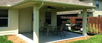 unique covered covered patio cost ideas of or beautiful house with concrete costco to covered patio cost e