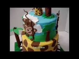 Safari Cakes Toppers For Baby Shower  Party XYZBaby Shower Safari Cakes