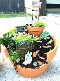 enchanted fairy garden kit home ening supplies grown flowers perennials en fairy ens depot accessories miniature