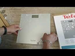 Видеобзор от покупателя на <b>Весы напольные Tefal PP</b> 1140 ...