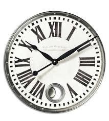 18 inch wall clock uttermost x inch wall clock photo la crosse technology 18 atomic outdoor