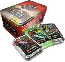 Lego Ninjago - Serie 3 Trading Cards - Alle 4 Tins Komplett Paket -  Deutsch: Amazon.de: Spielzeug