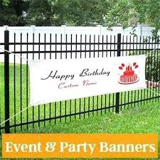 happy birthday customized banners custom banner template