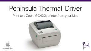 Zebra Driver For Zebra Gc420t Printer On Mac Os X