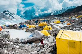 saving mount everest martin edstr atilde para m enlarge np 110427 1615 the basecamp of mount everest