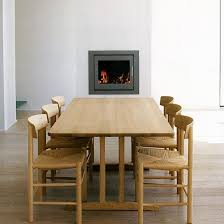 a clic set of j39 chair and a shaker table created by danish designer børge mogensen in 1947 1964
